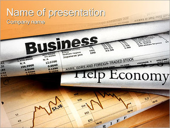 Financial Papers PowerPoint Template