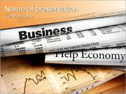 Documentos financieros Plantillas de Presentaciones PowerPoint
