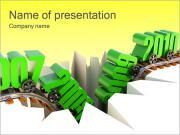 Economical Decrease PowerPoint Templates