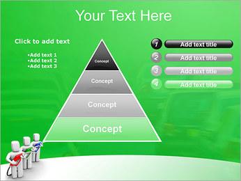 Essence des coûts et de gaz Modèles des présentations  PowerPoint - Diapositives 22