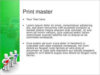 Essence des coûts et de gaz Modèles des présentations  PowerPoint - Diapositives 24