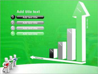 Essence des coûts et de gaz Modèles des présentations  PowerPoint - Diapositives 6
