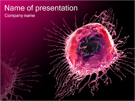 Pink Abstract Object PowerPoint Templates