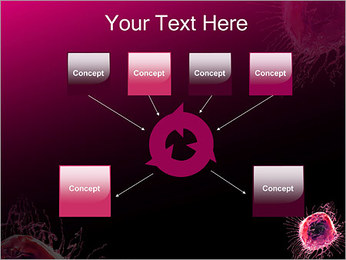 Pink Abstract Object PowerPoint Templates - Slide 10