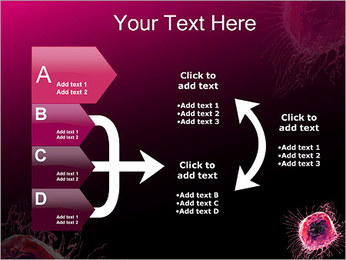 Pink Abstract Object PowerPoint Templates - Slide 16