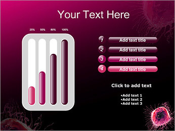 Pink Abstract Object PowerPoint Templates - Slide 18