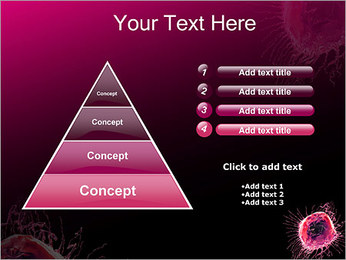 Pink Abstract Object PowerPoint Templates - Slide 22