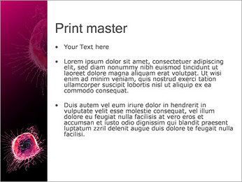 Pink Abstract Object PowerPoint Templates - Slide 24