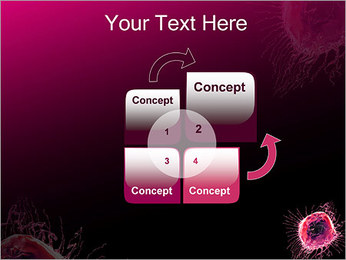 Pink Abstract Object PowerPoint Templates - Slide 5