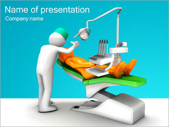 Dentist Work PowerPoint Template