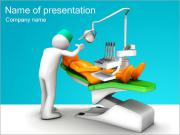 Dentist Work PowerPoint Templates