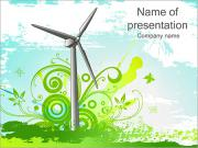 Green Energy Sjablonen PowerPoint presentaties