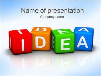 Idea Generator PowerPoint Template
