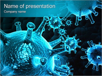 Medical Abstract Image PowerPoint Template