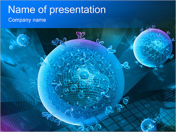 Sphere Abstract Elements PowerPoint Template