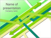 Green Arrows PowerPoint Templates