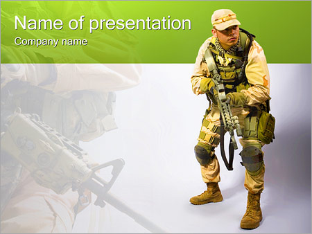 Military worker powerpoint template backgrounds id 0000002708 military worker powerpoint templates toneelgroepblik Gallery