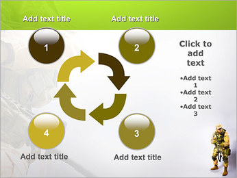 Military Worker PowerPoint Templates - Slide 14