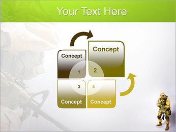 Military Worker PowerPoint Templates - Slide 5