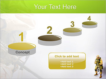 Military Worker PowerPoint Templates - Slide 7