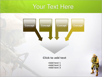 Military Worker PowerPoint Templates - Slide 8