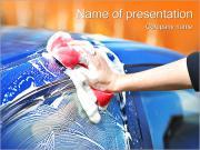 Service de lavage automatique Modèles des présentations  PowerPoint