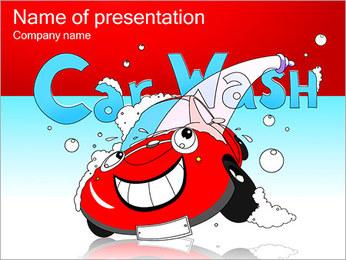 Animation Car Wash Modèles des présentations  PowerPoint