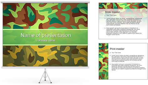 Khaki Background PowerPoint Template