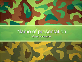 Khaki Background PowerPoint Template - Slide 1