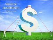 Dollars Position PowerPoint Templates