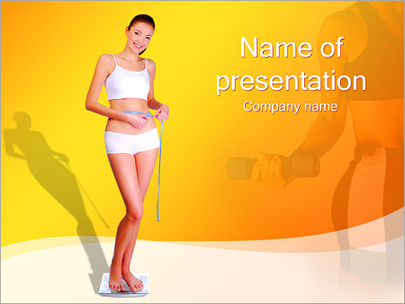 Sporty Girl PowerPoint Templates