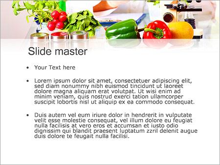 Lab Y Verduras Plantillas de Presentaciones PowerPoint
