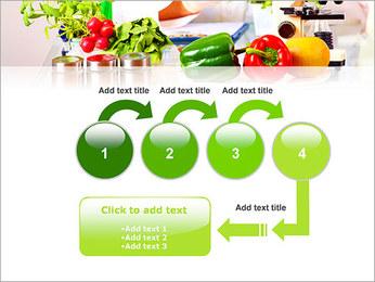 Lab et légumes Modèles des présentations  PowerPoint - Diapositives 4