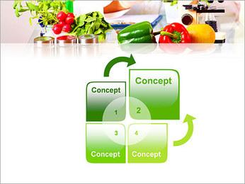 Lab et légumes Modèles des présentations  PowerPoint - Diapositives 5