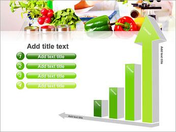 Lab et légumes Modèles des présentations  PowerPoint - Diapositives 6