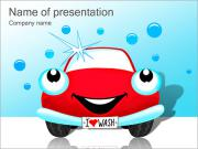 I Love Washing Cars PowerPoint Templates