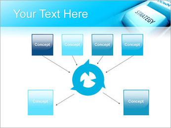 Keyboard Strategy Button PowerPoint Template - Slide 10