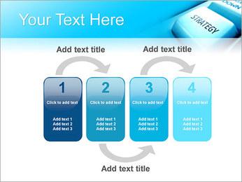 Keyboard Strategy Button PowerPoint Template - Slide 11
