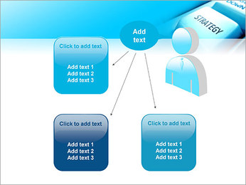 Keyboard Strategy Button PowerPoint Template - Slide 12