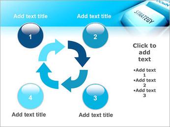 Keyboard Strategy Button PowerPoint Template - Slide 14