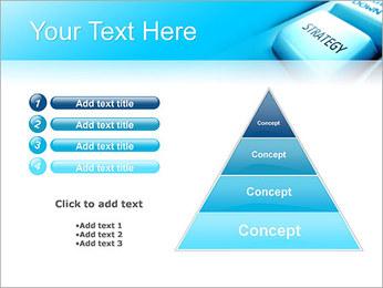 Keyboard Strategy Button PowerPoint Template - Slide 22