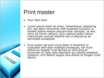 Keyboard Strategy Button PowerPoint Template - Slide 24