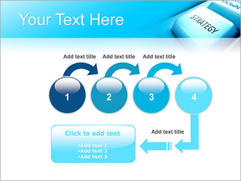 Keyboard Strategy Button PowerPoint Template - Slide 4