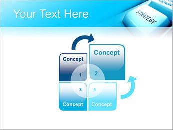 Keyboard Strategy Button PowerPoint Template - Slide 5