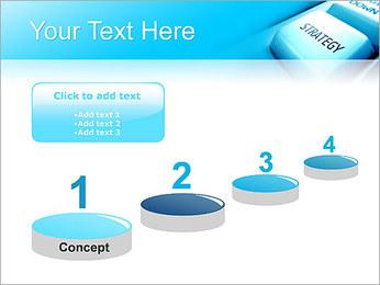 Keyboard Strategy Button PowerPoint Template - Slide 7