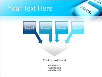 Keyboard Strategy Button PowerPoint Template - Slide 8