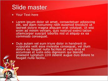 Les filles de lavage de voiture Modèles des présentations  PowerPoint - Diapositives 2