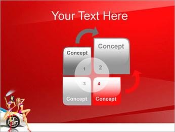 Les filles de lavage de voiture Modèles des présentations  PowerPoint - Diapositives 5
