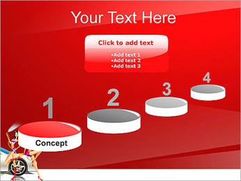 Les filles de lavage de voiture Modèles des présentations  PowerPoint - Diapositives 7