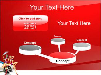 Les filles de lavage de voiture Modèles des présentations  PowerPoint - Diapositives 9